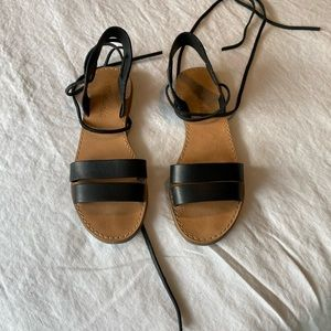 Madewell size 6 black sandals
